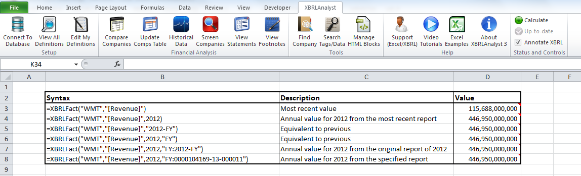 How to use XBRLAnalyst in Excel   FinDynamics
